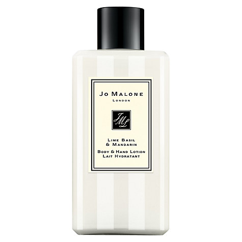Jo Malone London Lime Basil & Mandarin Body & Hand Lotion, £19 100ml