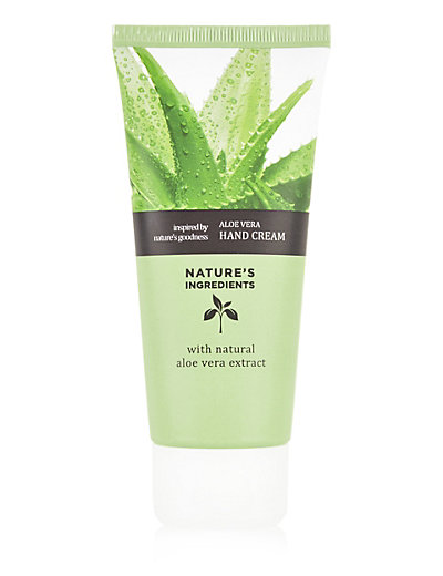 Nature's Ingredients Aloe Vera Hand Cream, £2.00
